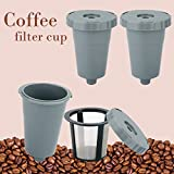 Reusable Coffee Filters,Reusable K Cups for Keurig 1.0 Brewers Universal Fit For B30 B40 B50 B60 B70...