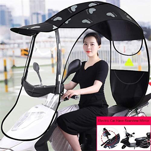 Universele buitenparaplu Zonnescherm Regenhoes voor elektrische motoren en elektrische fietsen Waterdichte paraplu