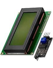 AZDelivery Modulo Pantalla LCD Display Verde HD44780 2004 con Interfaz I2C 20x4 caracteres negros compatible con Arduino con E-Book incluido!