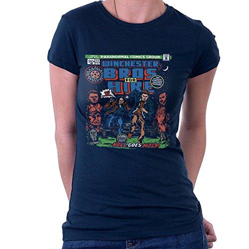Winchester Bros Hire Supernatural Classic Comic Women's T-Shirt