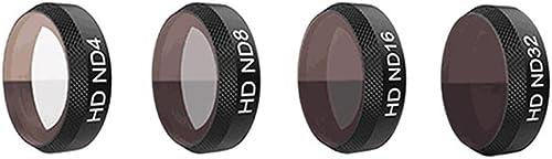 Ansemen Neutraldichte Kamera Filter Linse Kit für DJI Mavic Air - HD Neutraldichte ND4+ND8+ND16+ND32 Kamera Linse Filter Set Zubeh eil