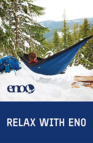 ENO, Eagles Nest Outfitters Ember Hammock UnderQuilt, Lightweight Sleeping Quilt for Cold Weather Camping, Charcoal/Red