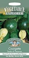 英国ミスターフォザーギルズシード&ジョンソンシード Vegetables Explorer ベジタブル・エキスプローラー Courgette Tondo di Piacenza コルジェット(ズッキーニ)・トンダ・ディ・ピアセンザ