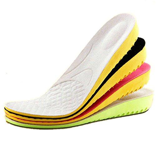 Boowhol Semelles Orthopédiques Sport, Semelles de Sport d'été - Idéal pour Les Sports d'impact ou l'utilisation Quotidienne (1.5cm)