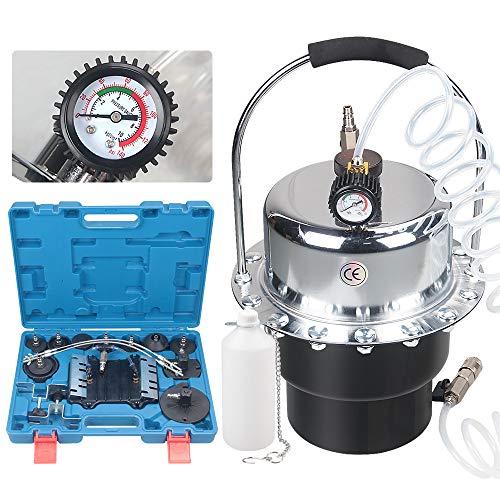 Anbull bremsenentlüftungsgerät, 5L bremsflüssigkeitswechselgerät,Druckluft Bremsenentlüfter