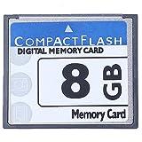 TellaLuna Professional - Scheda di memoria flash compatta da 8 GB, colore: Bianco e Blu