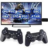 YSSClOTH Consola de Juegos Retro Consolas de Juegos portátiles clásicas Reproductor de Videojuegos 4K TV Salida HDMI con 2 Controladores