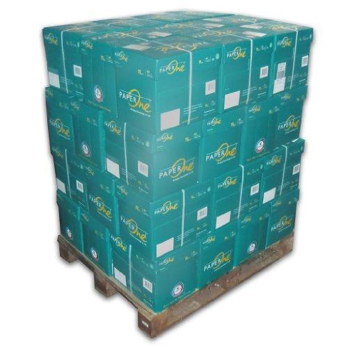 100000 Blatt Seite Marke PaperOne Palette Papier DIN A4 Kopierpapier Drucker-Faxpapier Laserpapier duplex druck Paper One