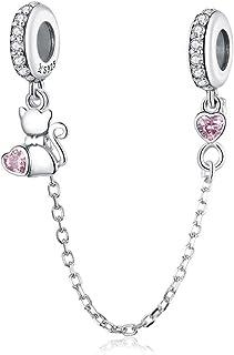 f6c5d0e7bf30 Amazon.fr : chats - Charms et perles / Charms et breloques : Bijoux
