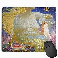 な丽な人鱼姫 マウスパッド ゲーミングマウスパッド ラップトップマット pcマウスパッド リストレスト ラバーマット 滑り止め 耐久性 高級感 25*30