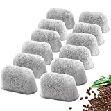 12 Packs Cuisinart Coffee Maker Charcoal Filters Replacement, Compatible With All Cuisinart Coffee Makers Charcoal Water Filters, Removes Chlorine, Odors, And Other Impurities From Water