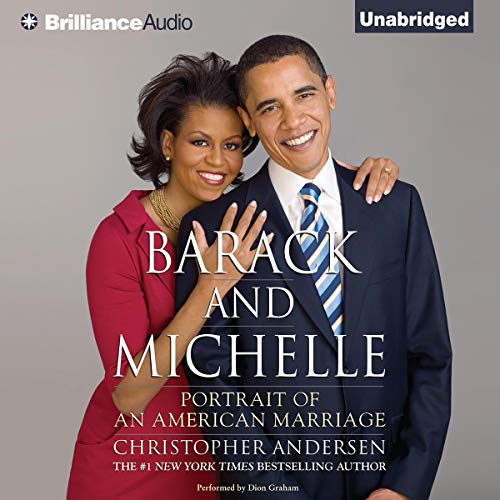 Barack and Michelle audiobook cover art