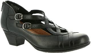Rockport Cobb Hill Collection Women's Cobb Hill Abbott Curvy Shoe Black Leather 7 M US
