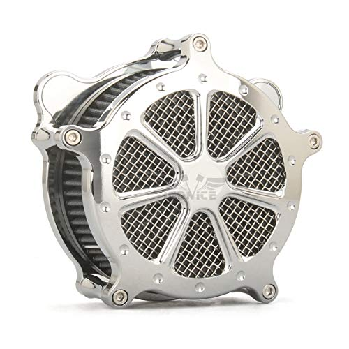 CHROMED AIR CLEANER Fit For Harley trike air cleaners flhr flhx fltr air filters 2008-2016,air cleaner softail 2016-2017