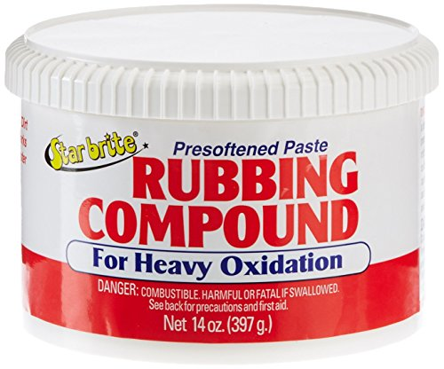 Star brite Paste Rubbing Compound Medium - 14 oz