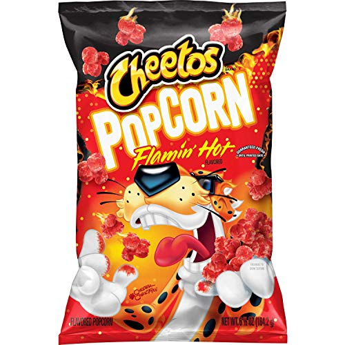 Why Should You Buy Cheetos Flamin' Hot Flavored Popcorn, 6.5 Oz
