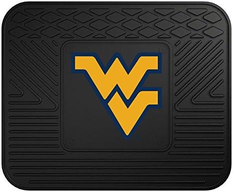 FANMATS NCAA West Virginia University Mountaineers Vinyl Utility Mat 14 x17 product image