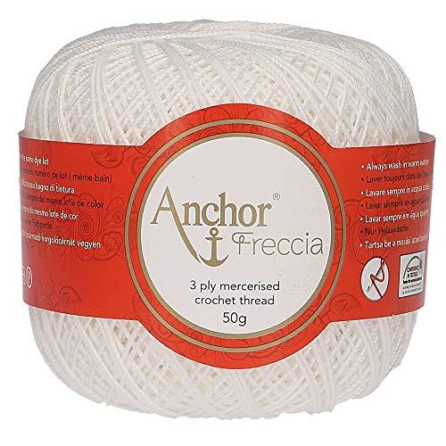 Anchor Hilos De Crochet Freccia, Fuerza: 16, Embalaje: 50G, Longitud: 385M 7901