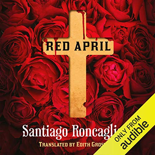 Red April audiobook cover art