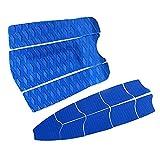 xldiannaojyb 12 Piezas/Set EVA Surfing Deck Pad Pad Tail Pad para la Tabla de Surf Skimboard Kiteboard Stand Up Paddleboard (Color : Blue)