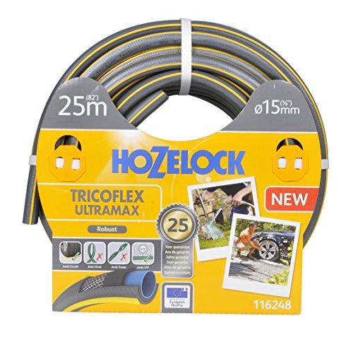 Hozelock 25m Tricoflex Ultramax Schlauch (15mm Durchm.)