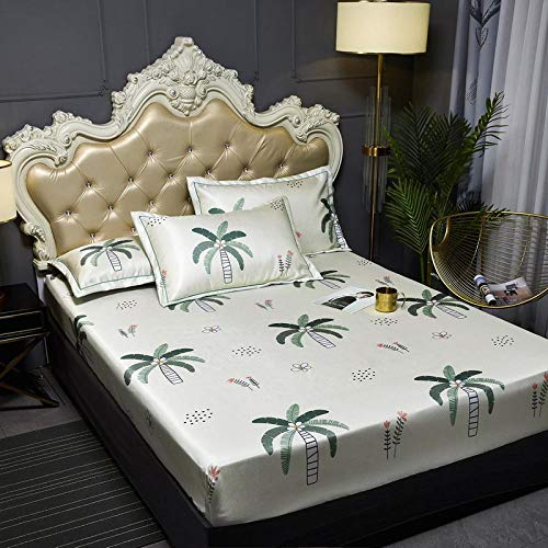 JRDTYS Super Soft Warm and Cosy Fitted Bed SheetThe bed cover is machine washable and non-slip-01_135cmx200cm+30cm