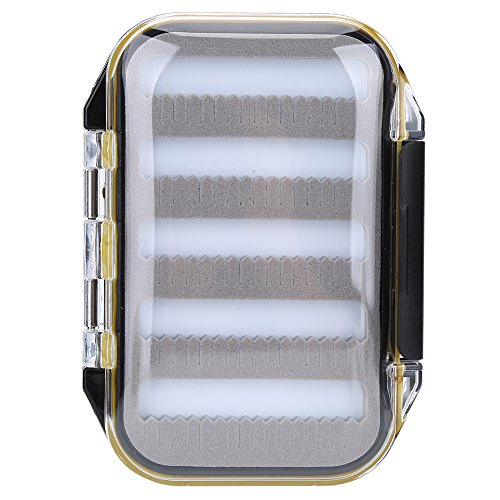 Lure Box Portable Angelköder Aufbewahrungsbox Case Lure Haken Köder Zubehör Kit Aufbewahrung für Outdoor Angeln, A-Jag Shape