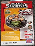 Mega Bloks Battle Strikers Turbo Tops Reload Striker Tank Booster Pack Magnext