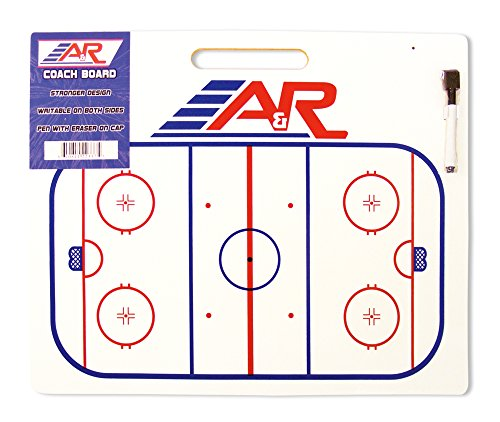 A&R Sports Hockey Jumbo Coach Board with Handle