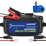 ADPOW 5A 12V Automatic Smart Battery Charger Automotive Maintainer 7-Stages...