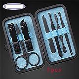 ZYC 1 juego de pinzas de acero inoxidable para manicura y pedicura.