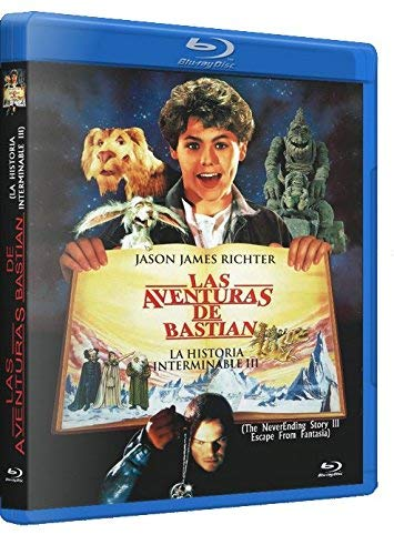 La Historia Interminable 3 - Las Aventuras de Bastian / The NeverEnding Story III ( Die unendliche Geschichte III: Rettung aus Phantasien ) ( Escape From Fantasia ) (Blu-Ray)