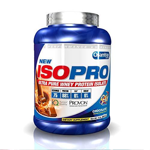 pequeño y compacto Quamtrax Nutrition Isopro Cfm, Sabor Chocolate – 2270g