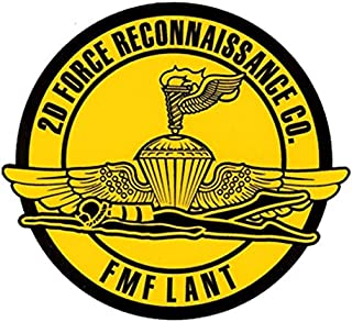 Tactical Assault Systems 2nd Force Recon Decal 5