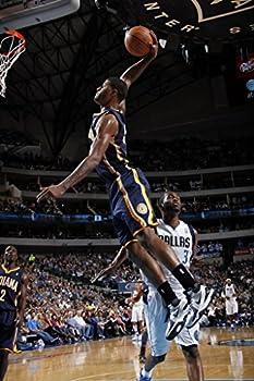 Paul George Slam Dunk Indiana Pacers Basketball Poster Art Print 36 x24  B