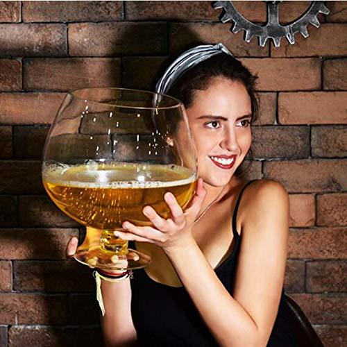 Decanters 2000 ml/4000 ml grappige grote grote grote grote wijn glas voor partij oversized bier mok creatieve partij