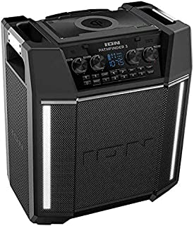 ION Pathfinder 3 Bluetooth Portable Speaker with Wireless Qi Charging