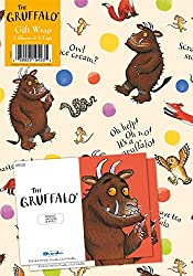 Official The Gruffalo Gift Wrapping Paper - 2 Sheets and 2 Tags Wrapping Paper Size: 700x500 mm 100% official licensed merchandise.