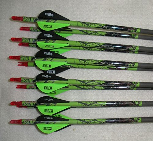Expedition Hunter Gold Tip 5575/400 Carbon Arrows w/Blazer Vanes Mossy Oak Wraps 1/2 Dz.