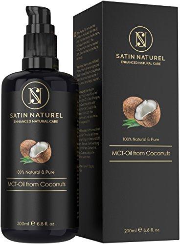 Aceite de Coco MCT Puro y Natural 200 ml / Triglicéridos de Ácidos Caprílicos...