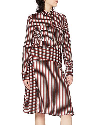 Hannibal Laguna VLINEL Vestido, Multicolor (Multicolor 135), 38 (Tamaño del Fabricante:38) para Mujer