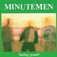 Ballot Results by MINUTEMEN (1990-10-25)