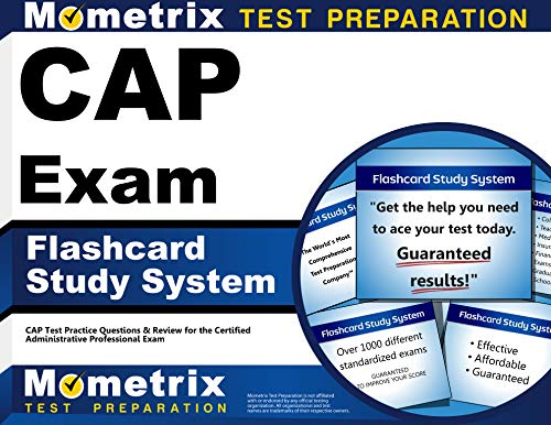 Cap Exam Flashcard Study System: Cap Test Practice Questions & Review for the Certified Administrative Professional Exam