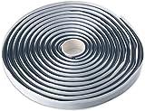 LLPT Nastro adesivo in corda butilica rotonda 9mm x 5m Nastro sigillante impermeabile in g...