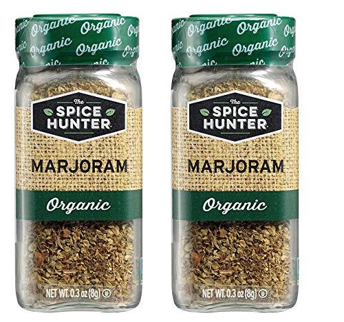 The Spice Hunter Marjoram, Organic, 0.3-Ounce Jar