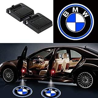 2Pcs for BMW Car Door Logo Projector Lights, Led Welcome Laser Door Lights Logo, No Damage Wireless Type Projector Car Door Lights for BMW, No Wiring, No Punching