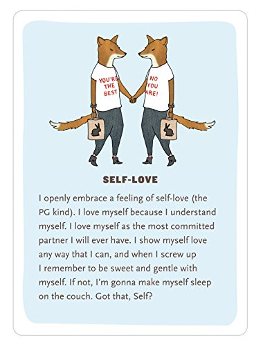 Affirmators! 50 Affirmation Cards to Help You Help Yourself - Without The Self-Helpy-Ness! Photo #7
