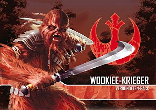 Asmodee FFGD4519 Star Wars: Imperial Assault-Wookiee-Krieger Verbündeten-Pack, Spiel