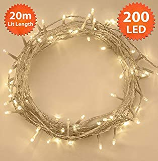 plastic led string lights