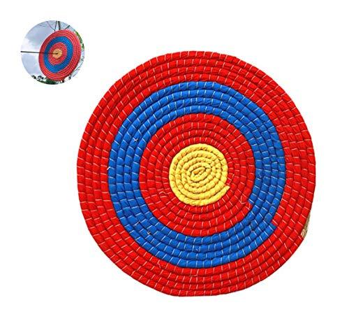 Poooooi Grass Zielschießen Compound-Bogen Recurve Zielbogenschießen Ziel Stroh Gras Pfeil Und Bogen Im Freien Training Zielschießen Zielschießen Zielrech Mehrschichtigen,50cm,2 Layers